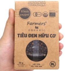 Tiêu Đen Hữu Cơ Farmers 50g
