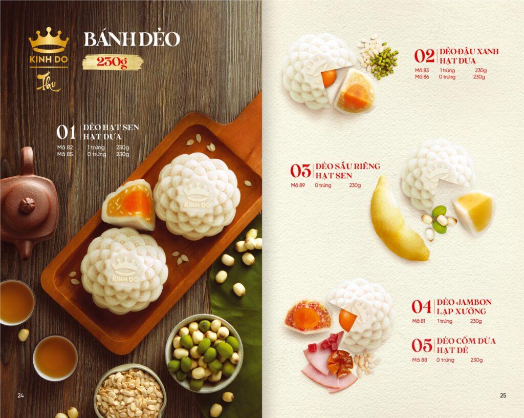 Bánh Trung Thu Kinh Đô - Bánh dẻo 230g