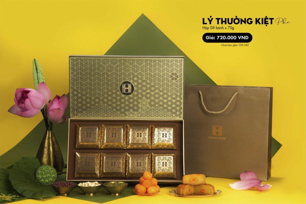 Bánh trung thu Madame Huong hộp Lý Thường Kiệt phố